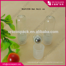 3 ml de verre MIni Sample Roll On Perfum Bottle