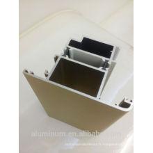 Rupture de profil en aluminium