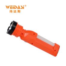 Tocha clara brilhante da lanterna portátil recarregável da tocha, lanterna elétrica solar WD-521