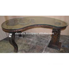 Steam Punk Gear Table Metal Copper Finish