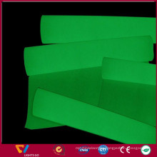 glow in the dark iron on transfer / self-adhesive red vinyl film for number plate