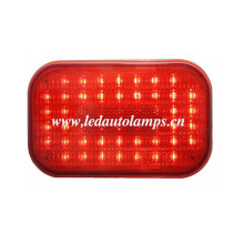 LED Truck Light avec 50LED et lentille rouge