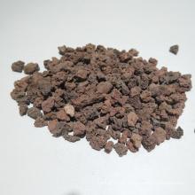 Meios de filtração de rocha vulcânica eficiente de purificação de esgoto