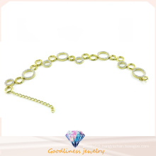 Woman Fashion Jewelry CZ 925 Silver Bracelet (BT6598)