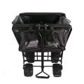 Oxford Cloth Foldable Garden Wagon Trolley Cart