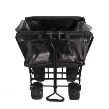 Oxford Cloth Faltbarer Gartenwagen Wagen
