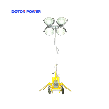 5.5M Manual Mast  Engine Trailer Lighting Tower