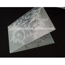 DIY product embossing folder