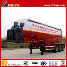 Varies Capacities 3 Axles Bulk Cement Tanker Semi Trailer