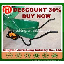 CHINA QingDao Cheap WB3800 carretilla para Sudáfrica herramienta de jardinería carretilla de hormigón 3800