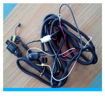 Factory Custom High Volt Car Fog Light Wiring Harness with Switch