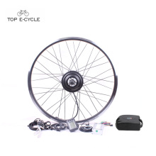 Hot sale cheap 26 inch 36v500w rear hub motor electric bike kit China