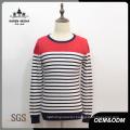 Men′s Fashion Striped Knit Sweater