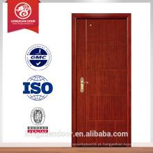 Porta de fogo de 30-120 minutos, porta ignífuga de madeira porta de incêndio padrão BS