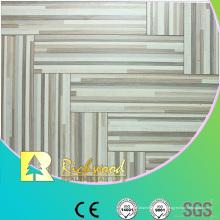Kommerzielle 12mm geprägte Eiche gewachst eingefasst Lamianted Flooring