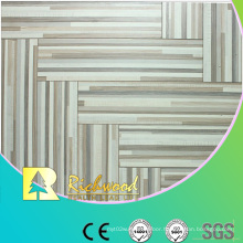 Commercial 12mm Embossed Oak Waxed Edged Lamianted Flooring