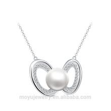 Фабрика сразу 925 серебряное Южное море и ожерелье диаманта привесные