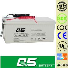 12V250AH energía eólica Batería GEL batería de productos estándar, batería de almacenamiento de energía
