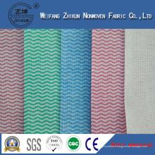 Tissu de Spunlace de tissu non-tissé en gros de la Chine pour la cuisine