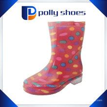 PVC Regen Stiefel Frauen Stiefel Cult Regen Schuhe