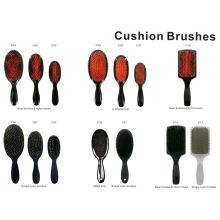 Collection de brosse à coussin de brosse au sanglier et à la brosse en nylon