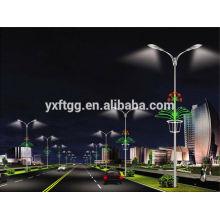 Iluminación de carreteras postes galvanizados o postes de luz para jardín de jardín