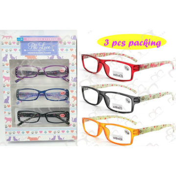 Blister 3 Piece Packing Reading Glasses (3004)