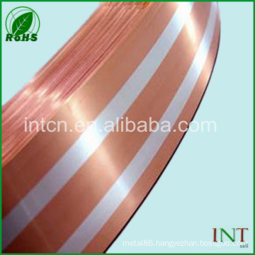 precious metal silver inlay copper strips