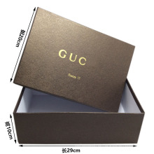 Luxus Recycling gewölbte Klappschuhe Box Paket