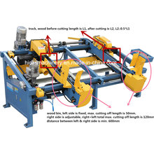 Sf602 Double End Trim Saw Wood Pallet Cutting Making Machine