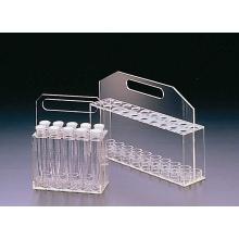 estante de tubo de ensayo de acrílico, vidrio orgánico, producto acrílico, plexiglás, acrílico