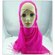 Тканый вискозный оптовый мусульманский шарф