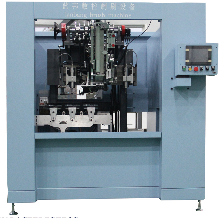 LBX five-axis high-speed drilling and tufting machine