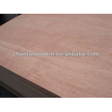 linyi 4.0mm bintangor face poplar core poplar back plywood