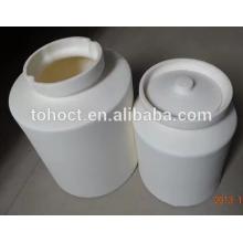 95% / 99% Alumina Al2O3 Céramique pot porcelaine pot en céramique