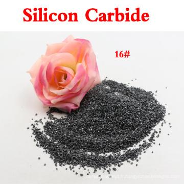 Haute dureté Particules de carbure de silicium noir pour sablage / lettrage