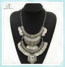Silver Long Vintage Coin Cheap Fashion Jewelry Made In China