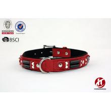 New style 2016 beaded pu belt dog collar