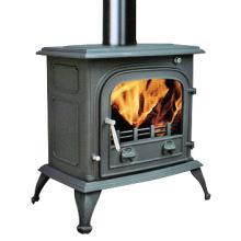 Fireplace, Cast Iron Stove, (FIPA075) / Iron Fireplace