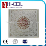 Wood design PVC panel for interior bathroom/ceiling decoration