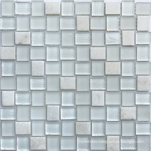 Wholesale Single Color Mixing Crystal Glass Mosaic for Bathroom