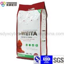 5 Kg Laminierte Dimension Tierfutter Verpackungsbeutel