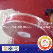 Fita de embalagem BOPP de 1000 metros com impressão de logotipo
