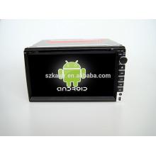 Quad core! Dvd do carro com ligação espelho / DVR / TPMS / OBD2 para 6.95 polegada tela de toque quad core 4.4 sistema Android Universal