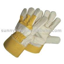 Кожаная кожаная перчатка