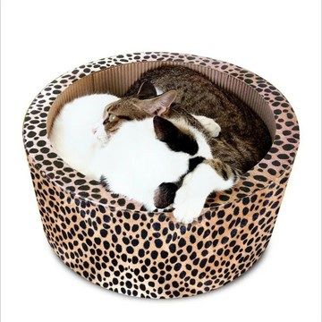 Round cat Scratching Bed