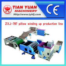 Travesseiro automático enrolamento de linha de produção (ZXJ-787)