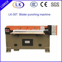 Máquina de perfuração de blister plástico hidráulico para blister de plástico