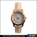 Quartz watch price stainless steel back, lady watch 2017