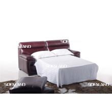 Италия Кожаный диван-кровать Мебель
